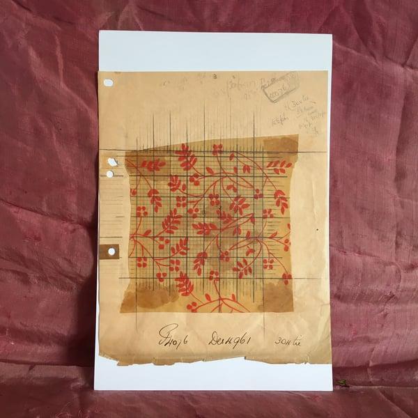 Image of Textile design one