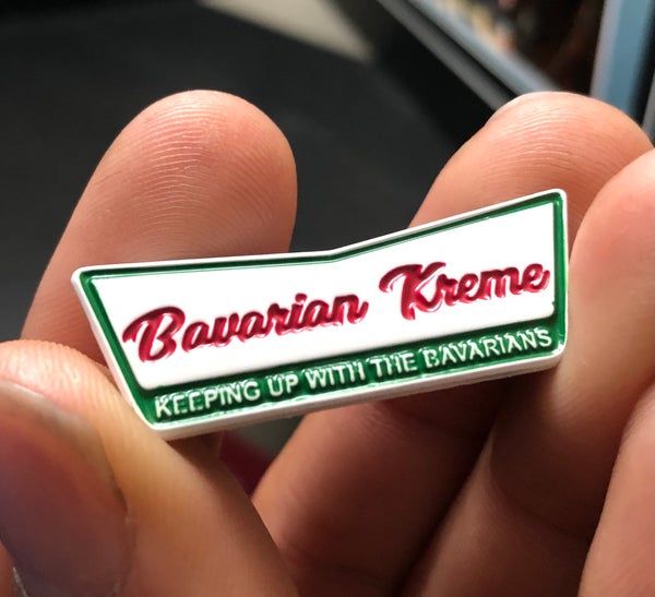 Image of Bavarian Kreme Enamel Pin