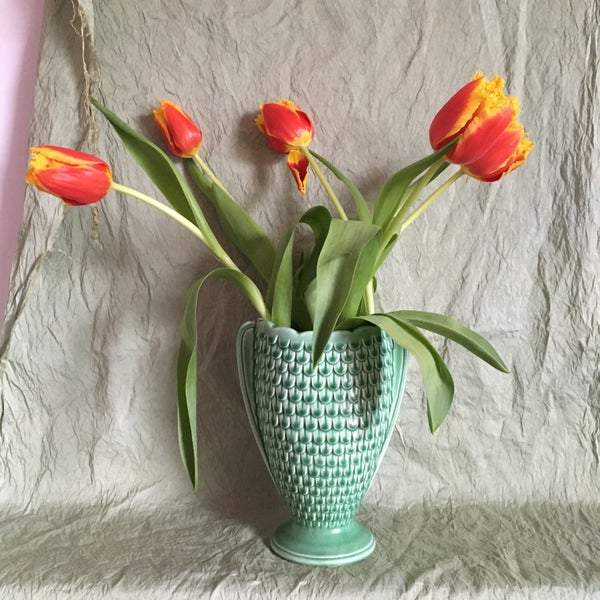 Image of Rare fish scale vase
