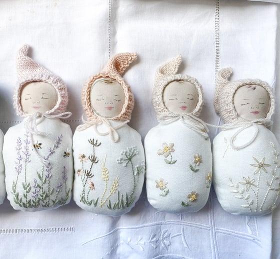 Image of Bébé lutin de printemps - little baby spring elf