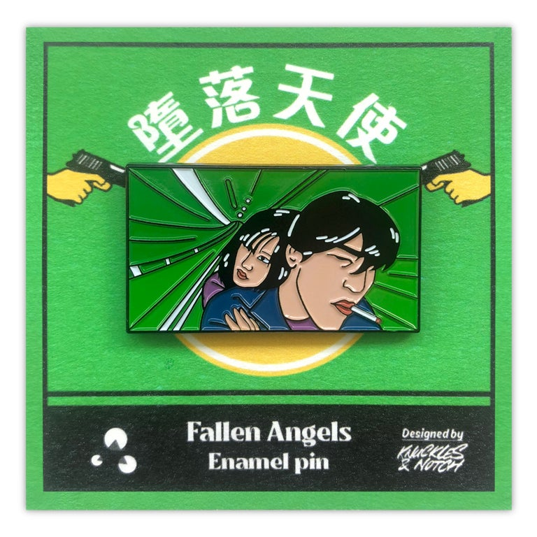 Image of Fallen Angels Pin by K&N for Asian Film Archive – Retrospective: Wong Kar Wai
