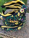 New! Girasoles Headband