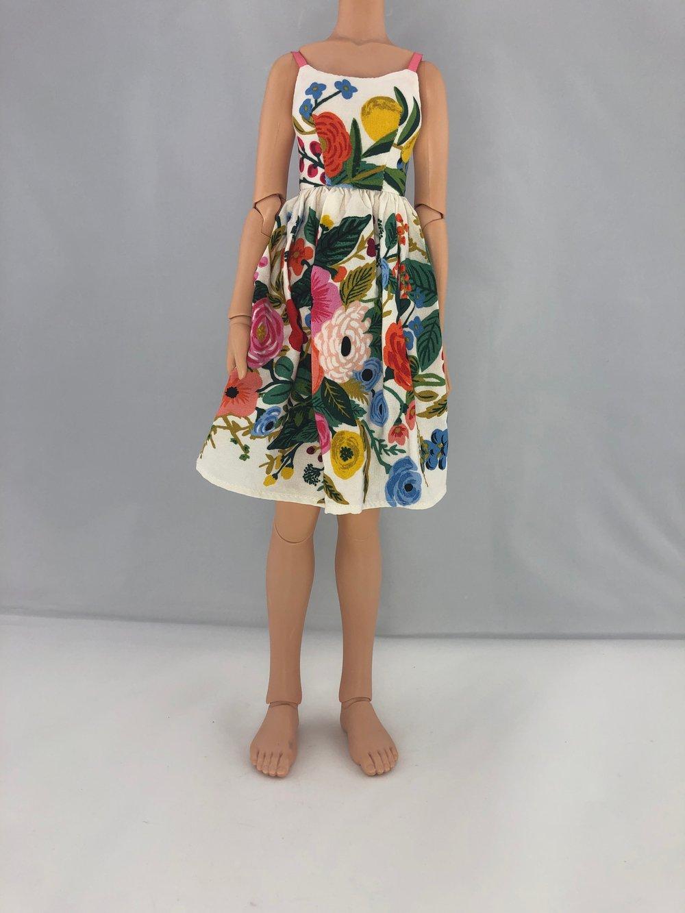 Floral Vintage Dress: Unoa