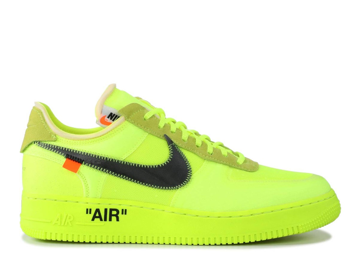 Image of OFF-WHITE X AIR FORCE 1 LOW 'VOLT'