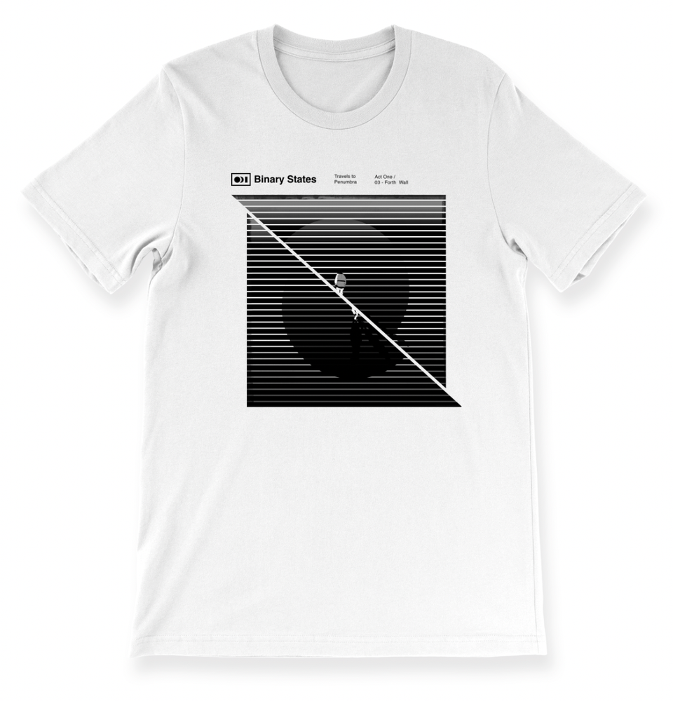 Image of Binary States - The Traveler T-shirt