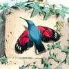 Hummingbird Silk Scarf for John Derian