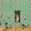 Green Interior Silk Scarf for John Derian