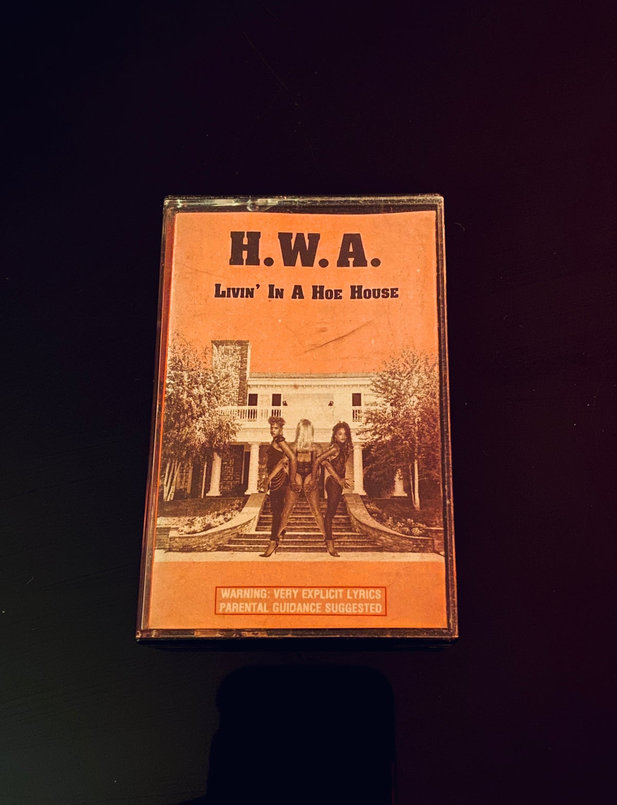"""Image of H.W.A """"Livin' In A Hoe House"""""""