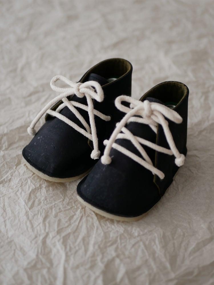 Image of Chaussures OAK noires / Shoes OAK black