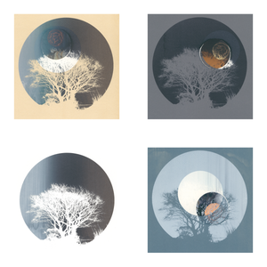 Image of Set of 4 Greeting Cards - The Silhouette Series