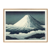 AFFICHE MONT FUJI, THE DYBDHAL CO.
