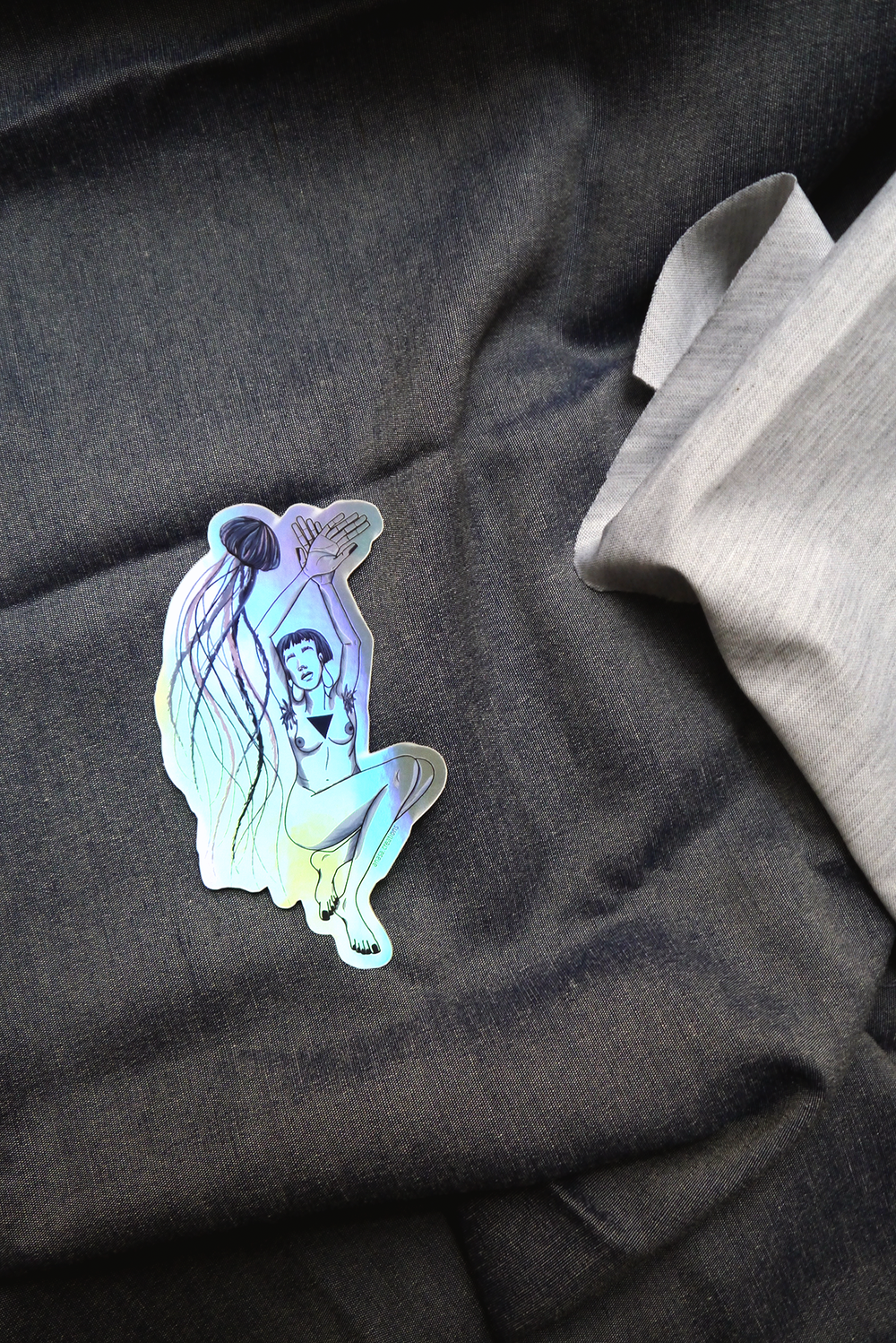 Image of BIG HOLOGRAPHIC STICKERS