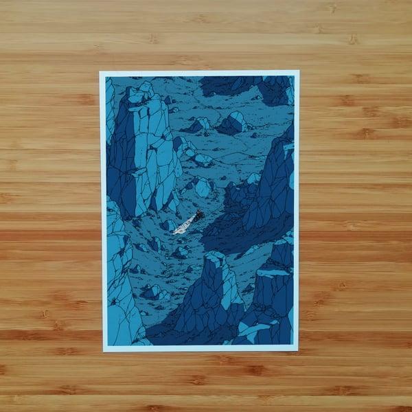 Image of Blue Canyon - SIGNED PRINT