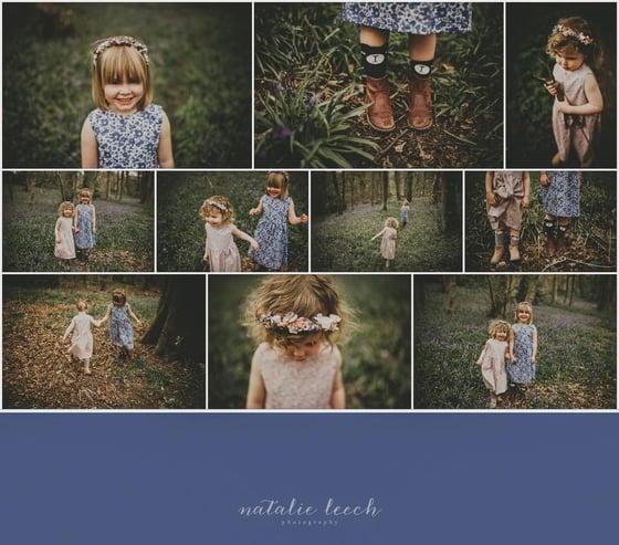 Image of Bluebell Wood Photoshoot
