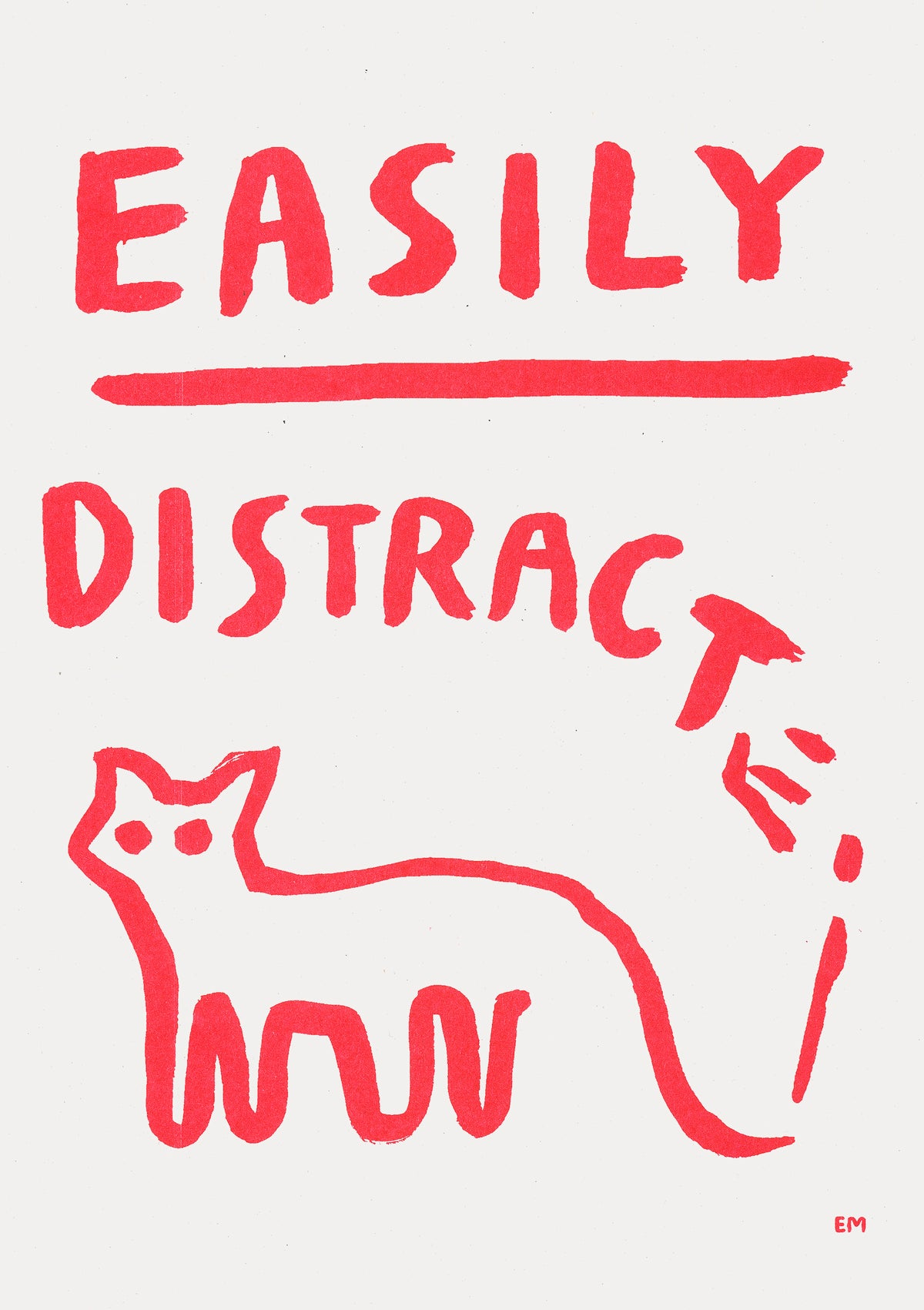 Image of EASILY DISTRACTED