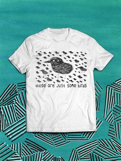 Image of 'Just Some Birds' Unisex Tee