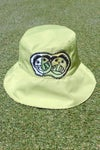 the 2 sides bucket hat in green