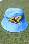 the from the sky bucket hat in blue