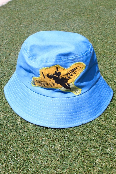Image of the from the sky bucket hat in blue