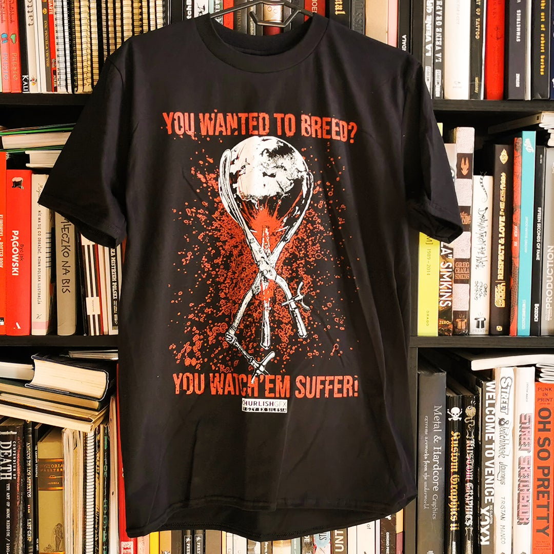 Gzy Ex Silesia - Abort the planet t shirt -