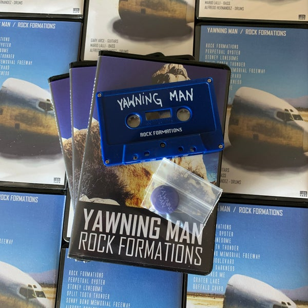 Image of YAWNING MAN 'Rock Formations' limited edition cassette
