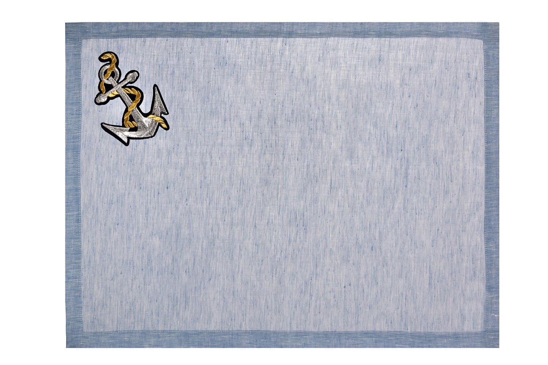 Image of Tovaglietta americana in lino Cruise - Cruise linen placemat