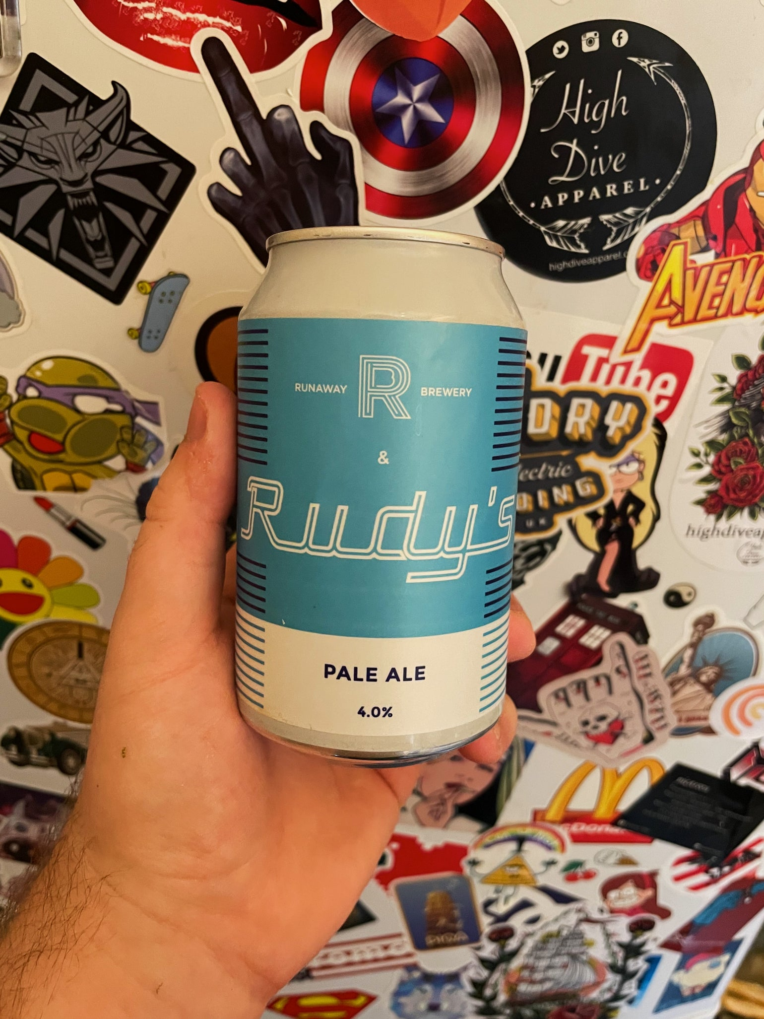 Image of 'Rudy's Pale Ale' Crafty Bugger Candle