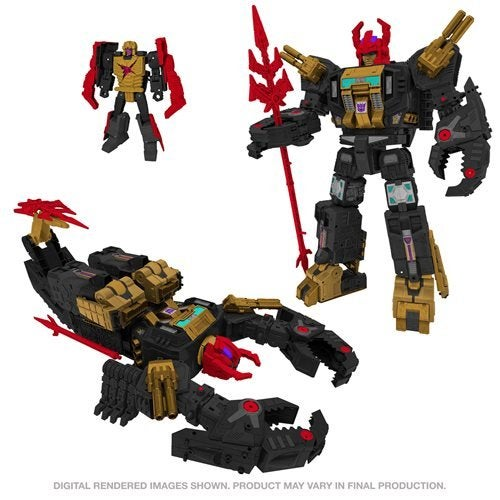 Image of Transformers Generations Selects War for Cybertron Titan Black Zarak - Exclusive