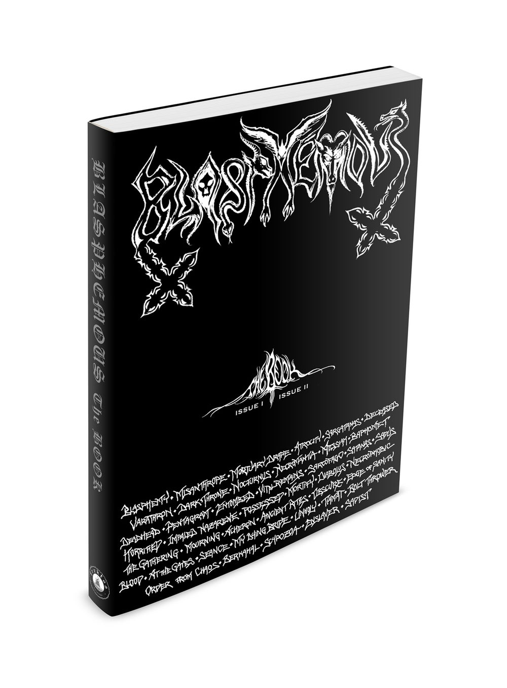 BLASPHEMOUS - The Book / Book