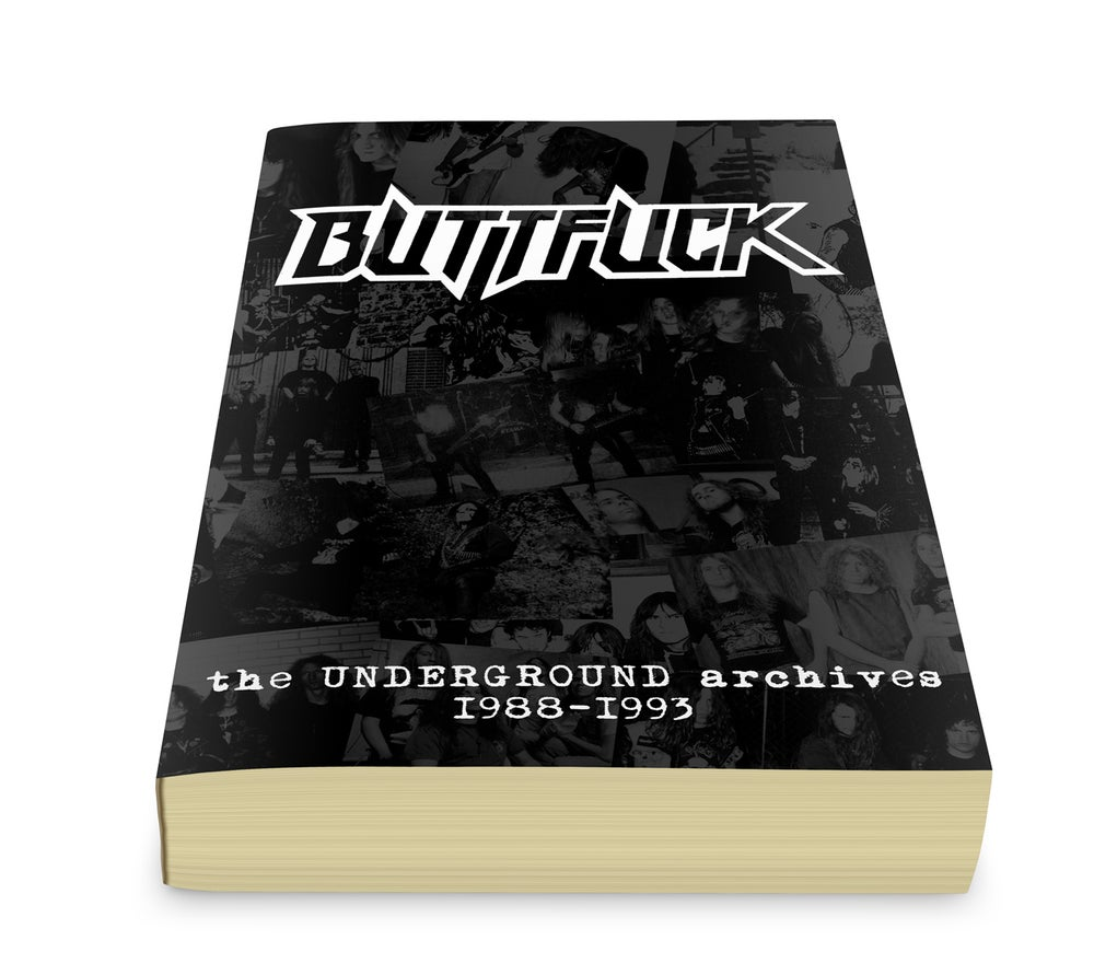 BUTTFUCK - The Underground Archives 1988~1993 / Book