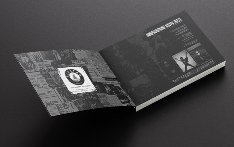 UNDERGROUND NEVER DIES! - It is Not Black & White Anymore / Book