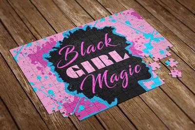 Image of Black Girl Magic Jigsaw Puzzle