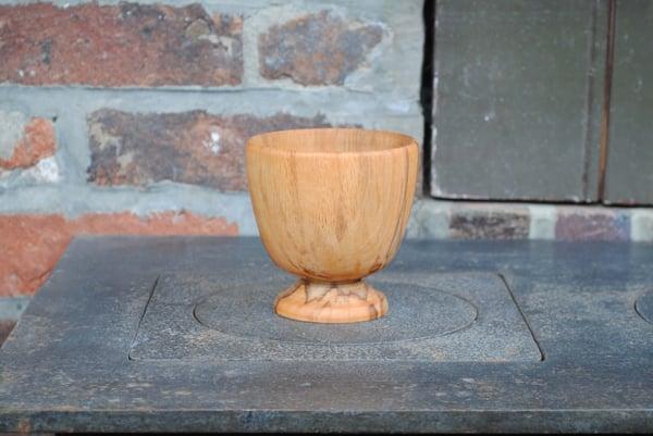 Image of Footed alder end-grain cup I