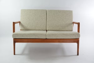 Image of Banquette Berlin 2p chiné beige