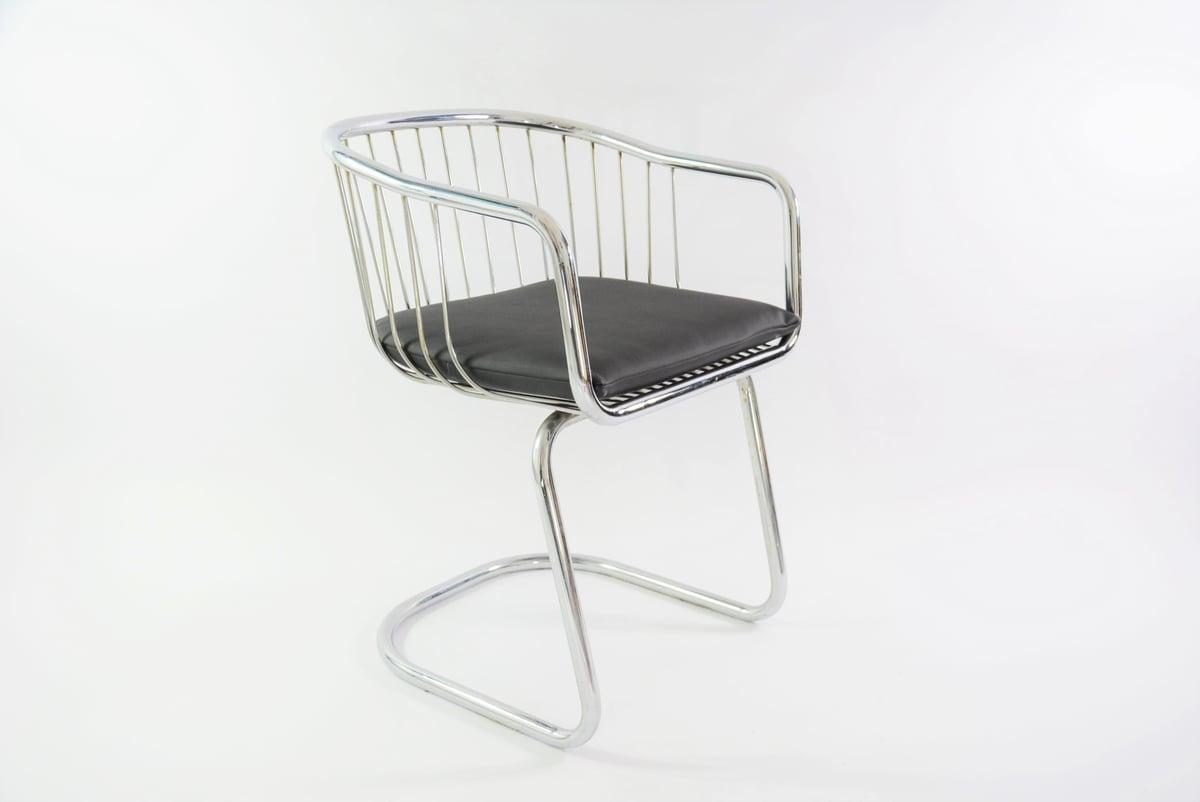 Image of Chaise chromée 70'