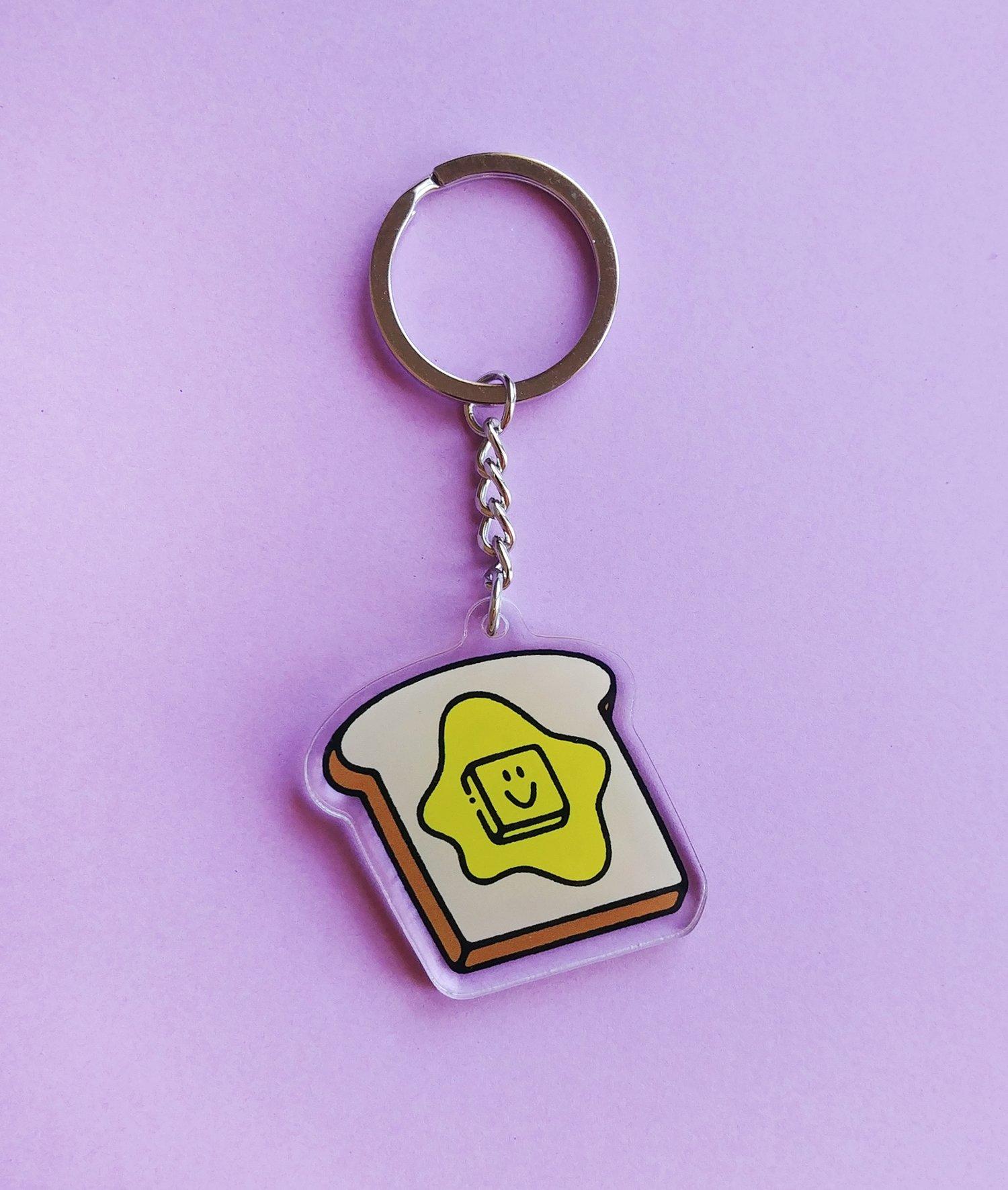 Toast Keychain