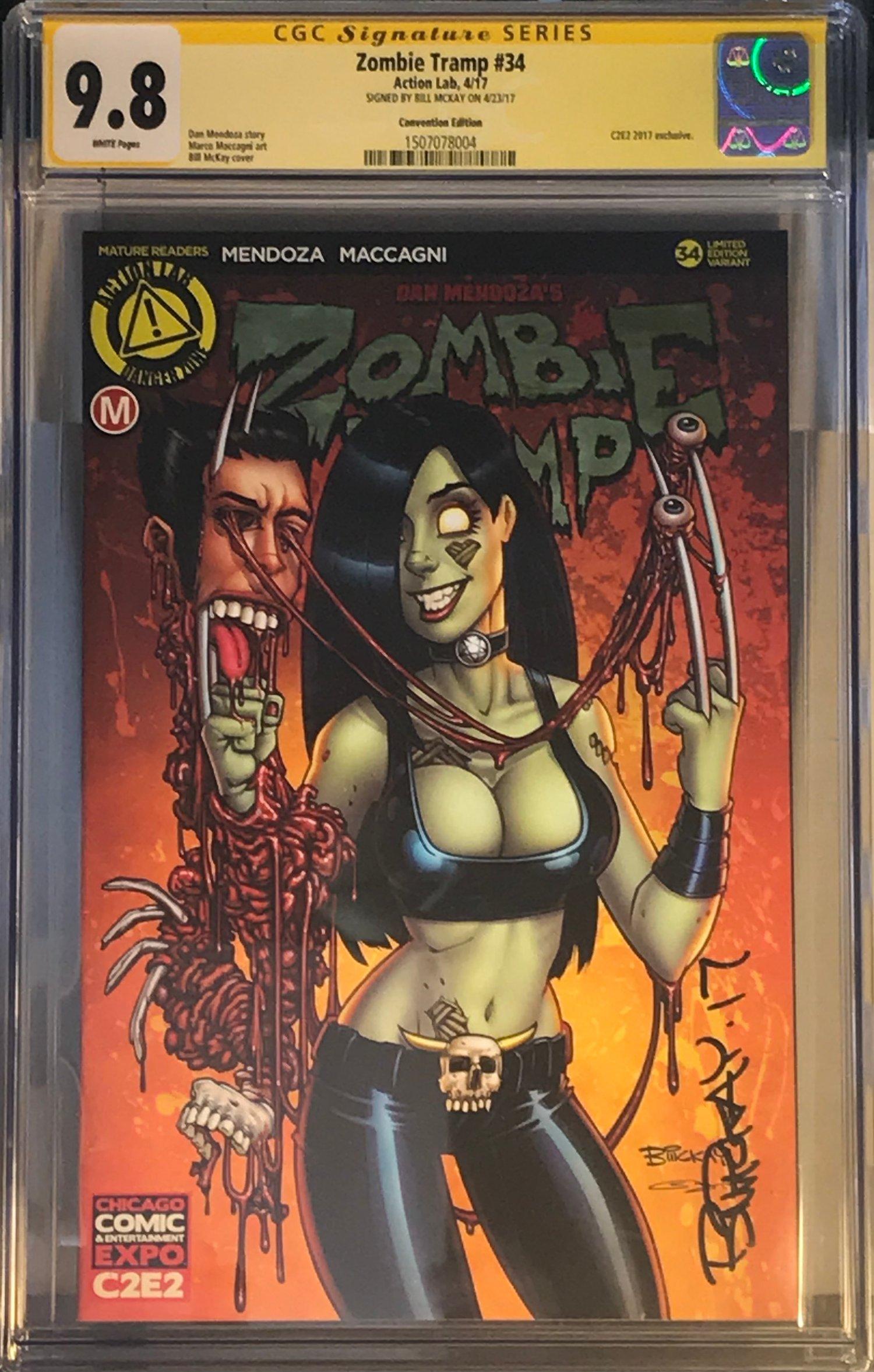 Zombie Tramp 34 C2E2 Exclusive CGC 9.8