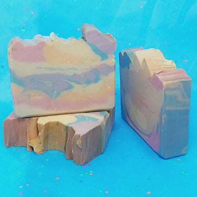 Image of Unicorn Cake Batter Artisan Goat Milk Soap