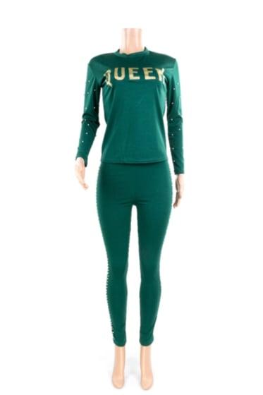 Image of Queen Casual 2 Piece Set