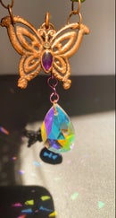Image 2 of jaunt wraps collab electroformed butterfly suncatcher
