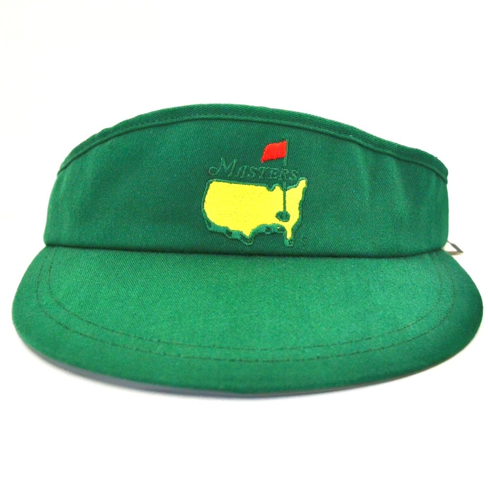 Image of Vintage 1990's The Masters American Needle Golf Tournament Visor