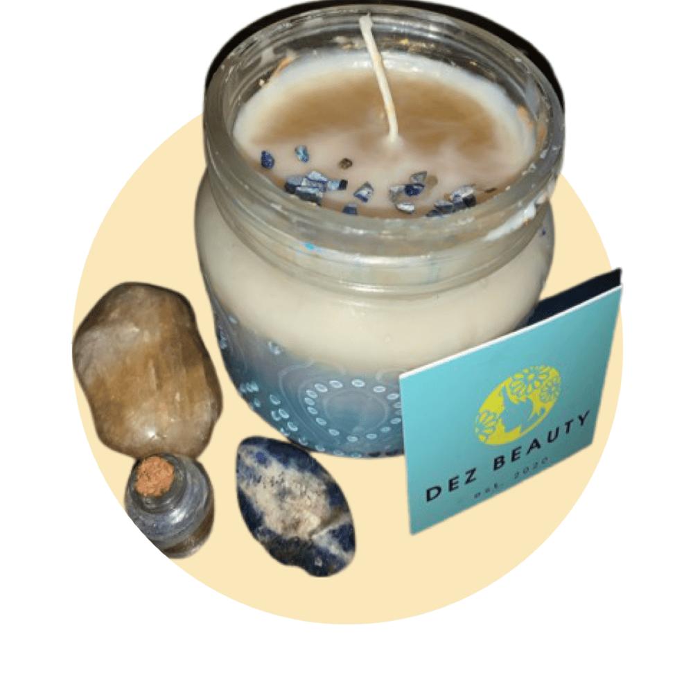 Image of Placid Sky Candle • infused w/ Lapiz Lazuli💎