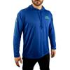 SC Wake Long Sleeve Hooded T-Shirt - Blue