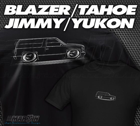 Image of Blazer Tahoe Yukon Jimmy T-Shirts Hoodies Banners
