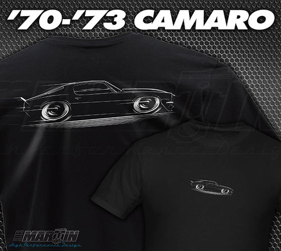 Image of '70-'73 Camaro T-Shirts Hoodies Banners