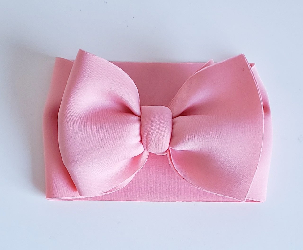 Image of Baby pink poofy bow