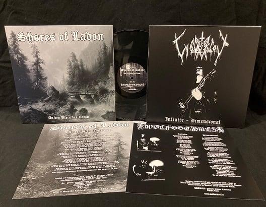 """Shores of Ladon / Wolfsschrei - An den Ufern des Ladon / Infinite - Dimensional 12"""" LP"""