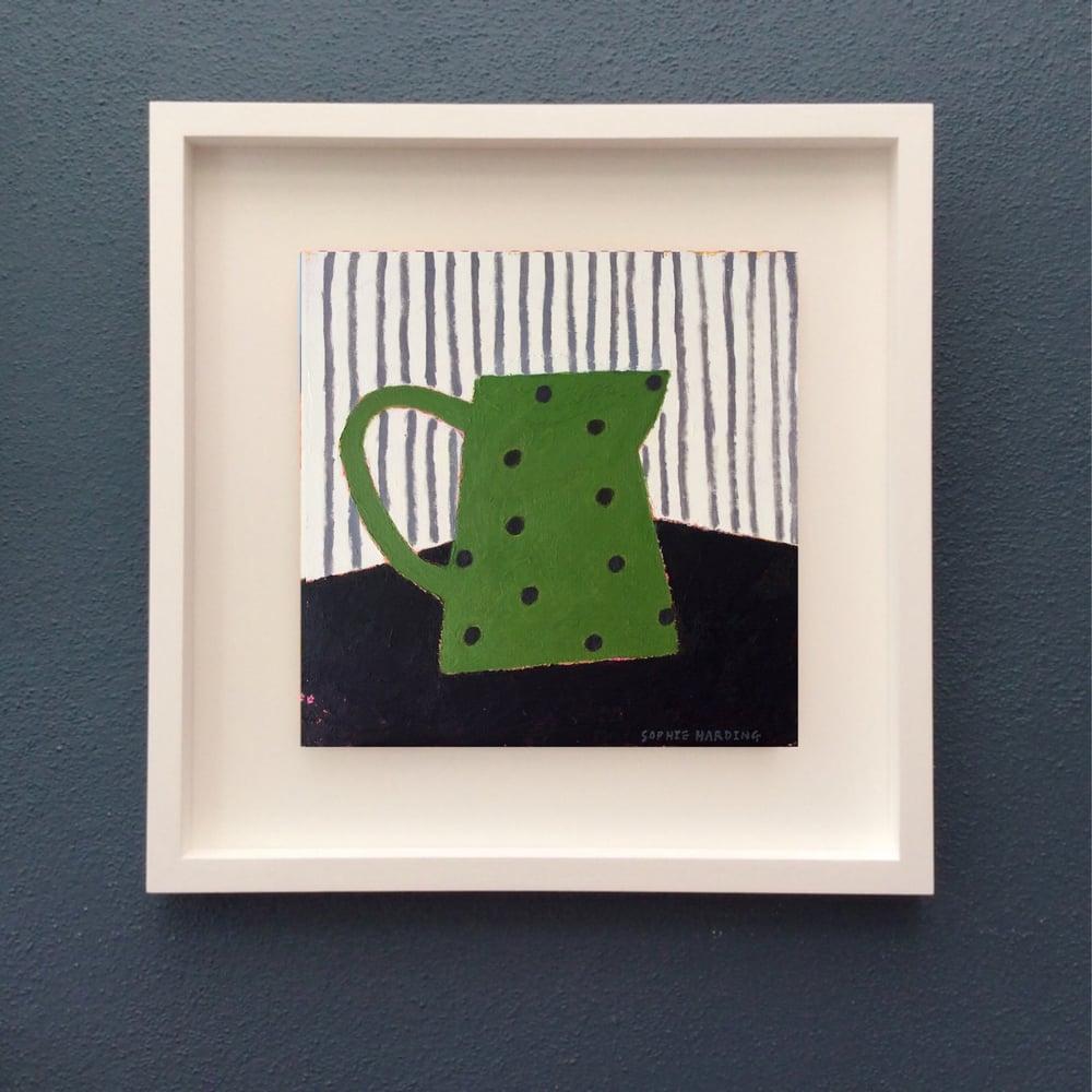 Image of Green Spotty Jug