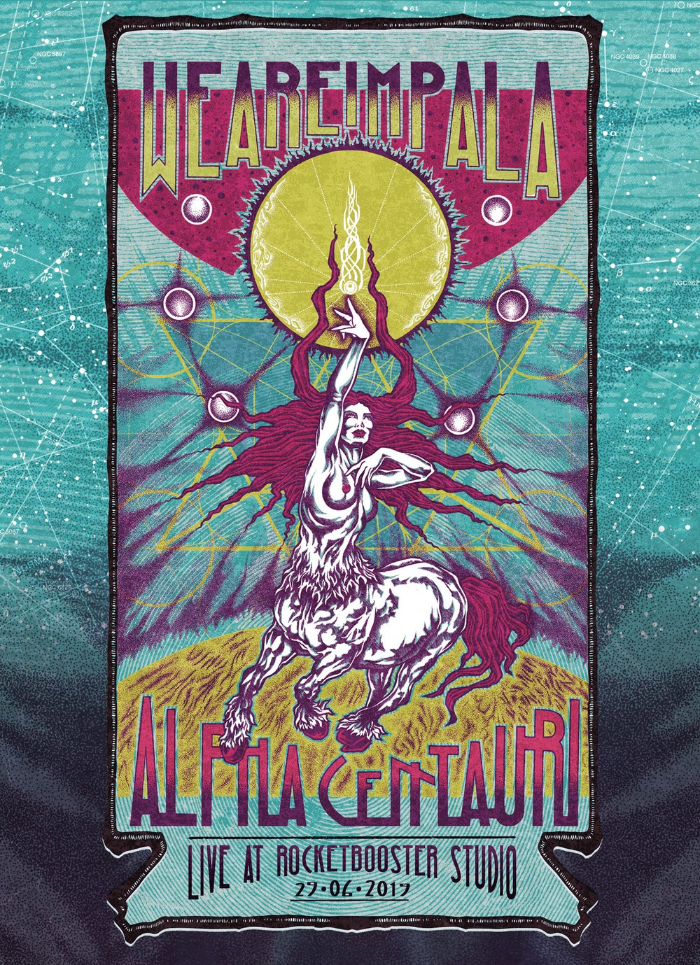 Image of WE ARE IMPALA - ALPHA CENTAURI LIVE AT ROCKETBOOSTER STUDIO