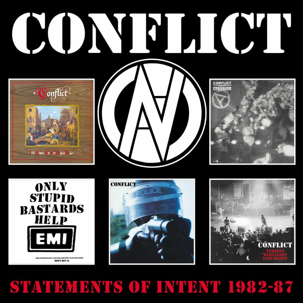Image of Conflict: Statements Of Intent 1982-1987, 5CD Clamshell Box